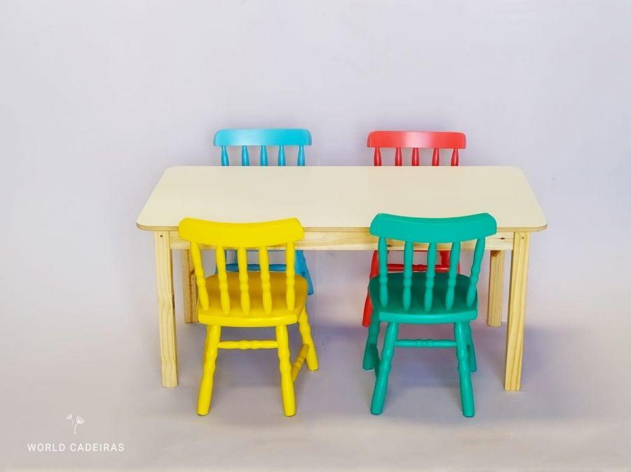 Pintar cadeiras infantis (gratuito)