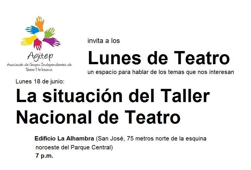 Lunes de teatro: La situación actual del TNT