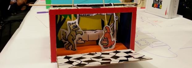 Oficina de Marionetas | Caixa das Histórias Ensarilhadas | Casa Educativa da Marioneta