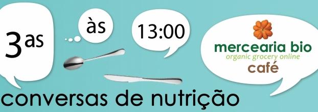 Conversas de Nutrição 3as às 13h no Café