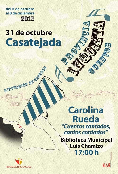 Provincia inquieta | CUENTACUENTOS: Carolina Rueda