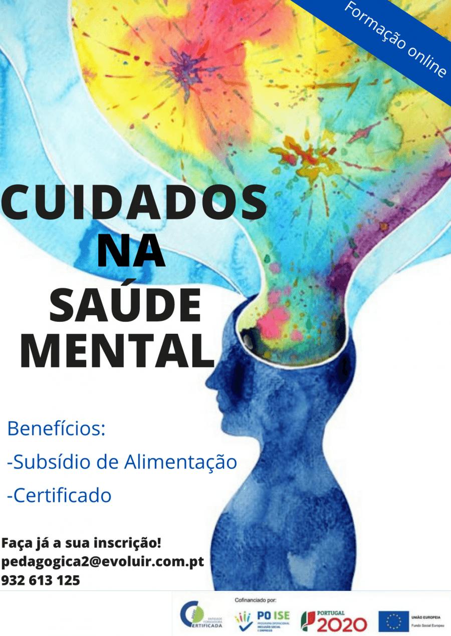 Formação gratuita- cuidados na saúde mental