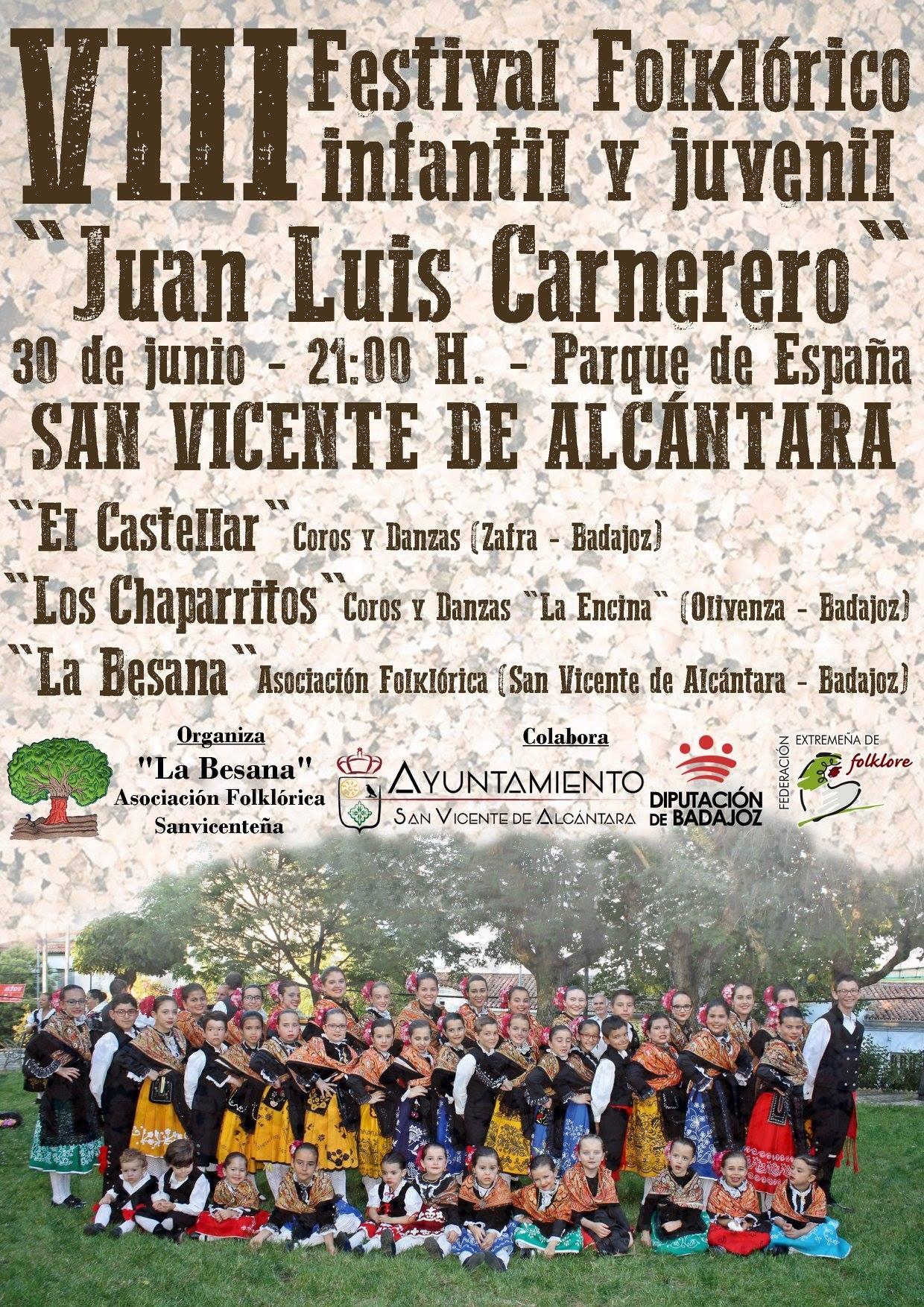 VIII Festival Folklórico Infantil y Juvenil 'JUAN LUIS CARNERERO'