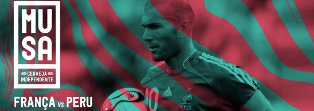 Musa World Cup : França vs Peru   Argentina vs Croácia