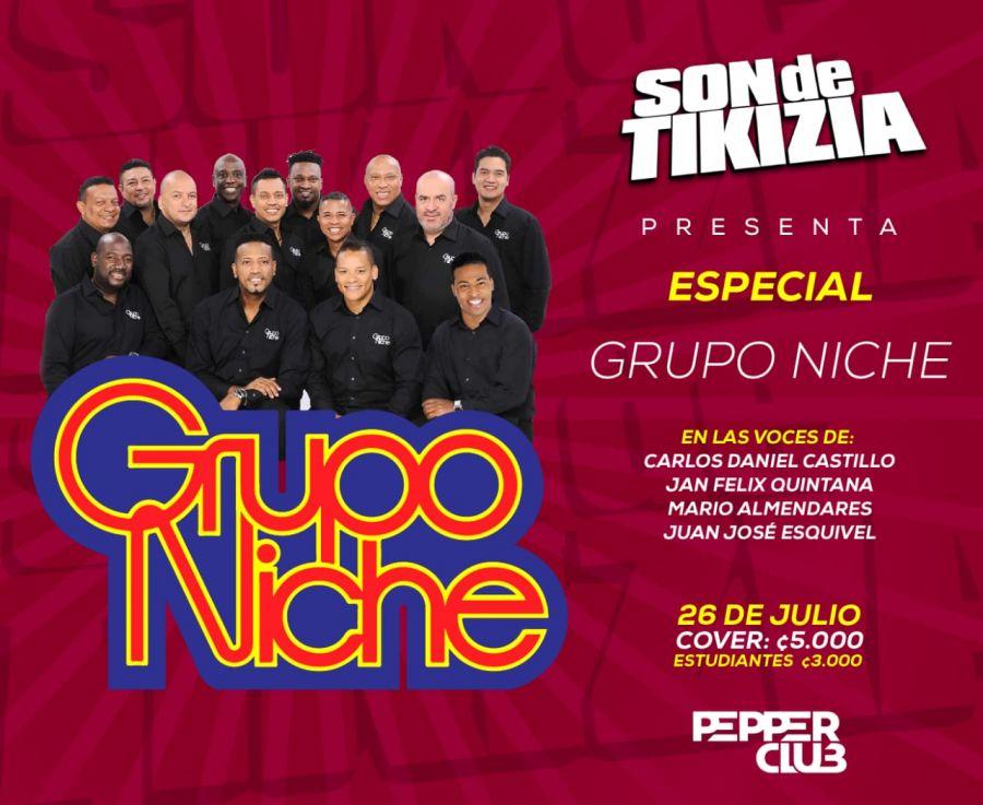 Especial Grupo Niche. Son de Tikizia. Salsa
