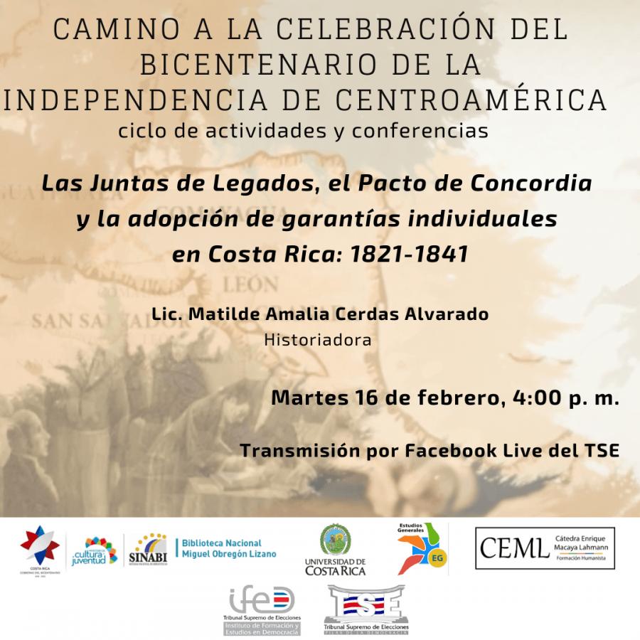 Las Juntas de Legados, el Pacto de Concordia y la adopción de garantías individuales en Costa Rica: 1821-1841