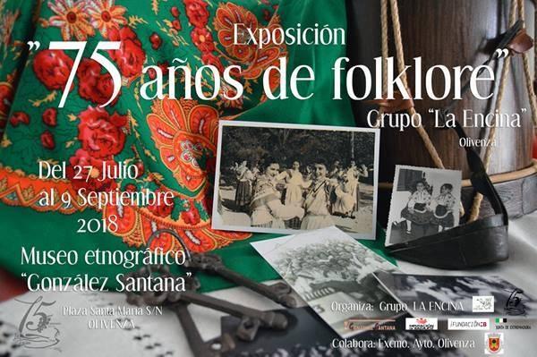 Exposición 'La Encina: 75 Años de Folklore' || OLIVENZA