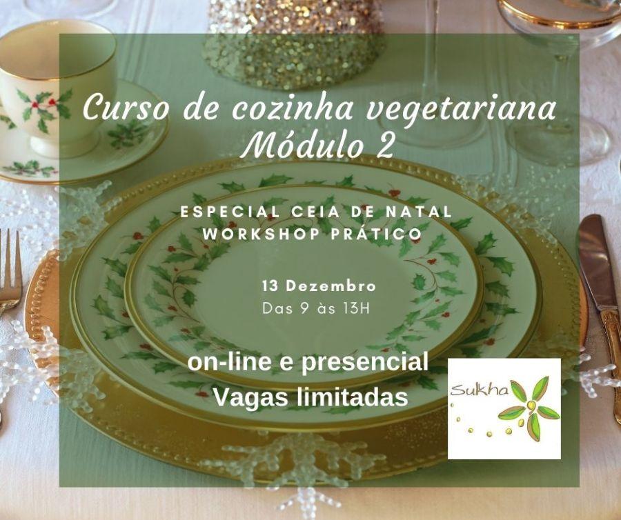 Curso Cozinha Vegetariana Especial Natal