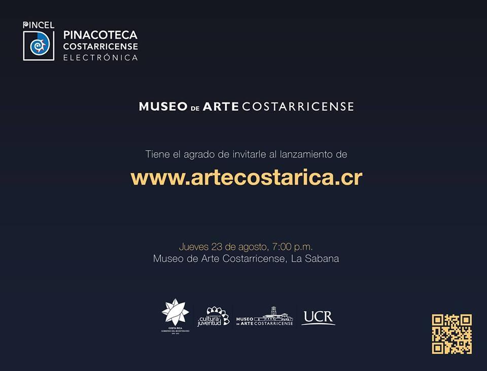 Lanzamiento de Pincel-Pinacoteca Costarricense Electrónica