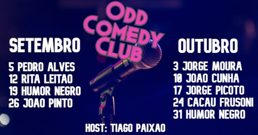 Odd Comedy Club - Standup Comedy às Quintas