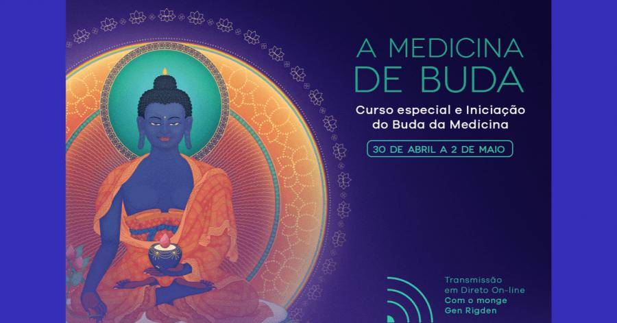 Curso especial e Iniciação do Buda da Medicina