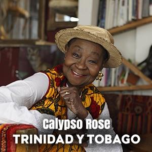 Calypso Rose (Trinidad y Tobago)