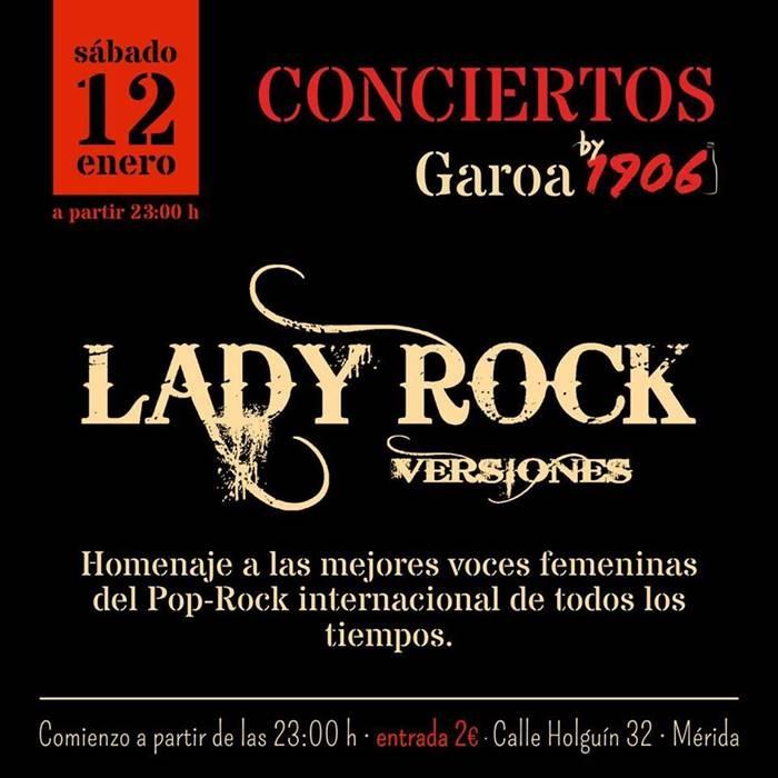 Concierto versiones de Lady Rock | Garoa by 1906