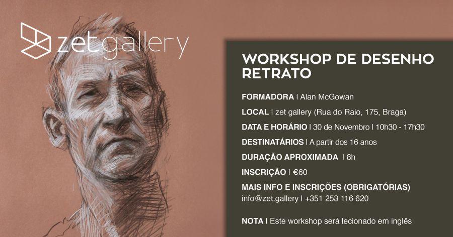 Workshop de Desenho - Retrato