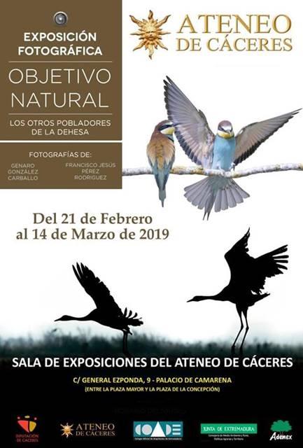 Exposición fotográfica 'Objetivo natural' || Ateneo de Cáceres