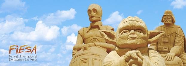 Os heróis da Saga Star Wars no FIESA