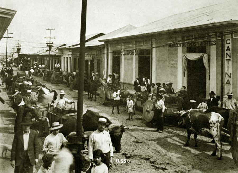 San José blanco y negro. Fotografías antiguas