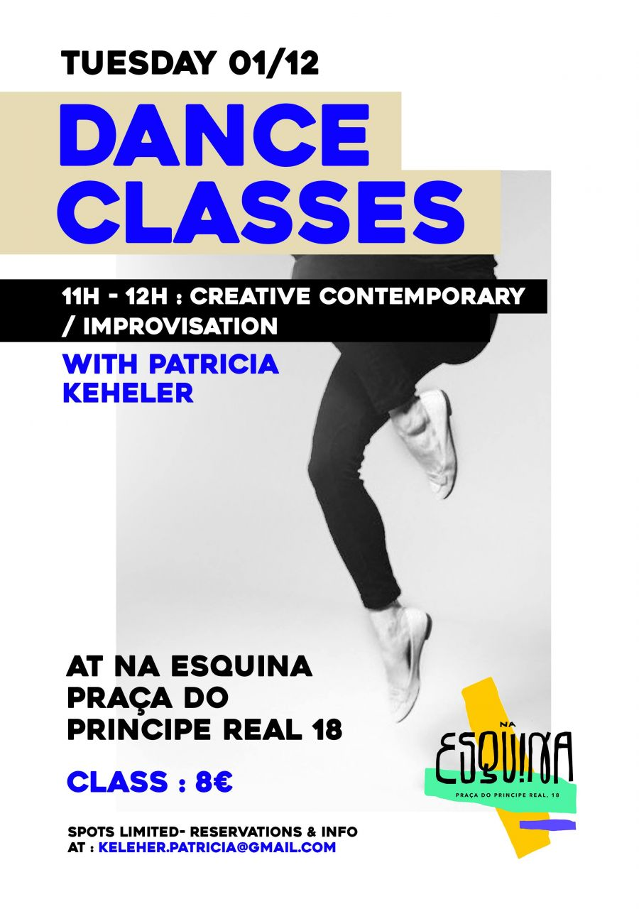 Dance Classes - Creative Contemporary / Improvization
