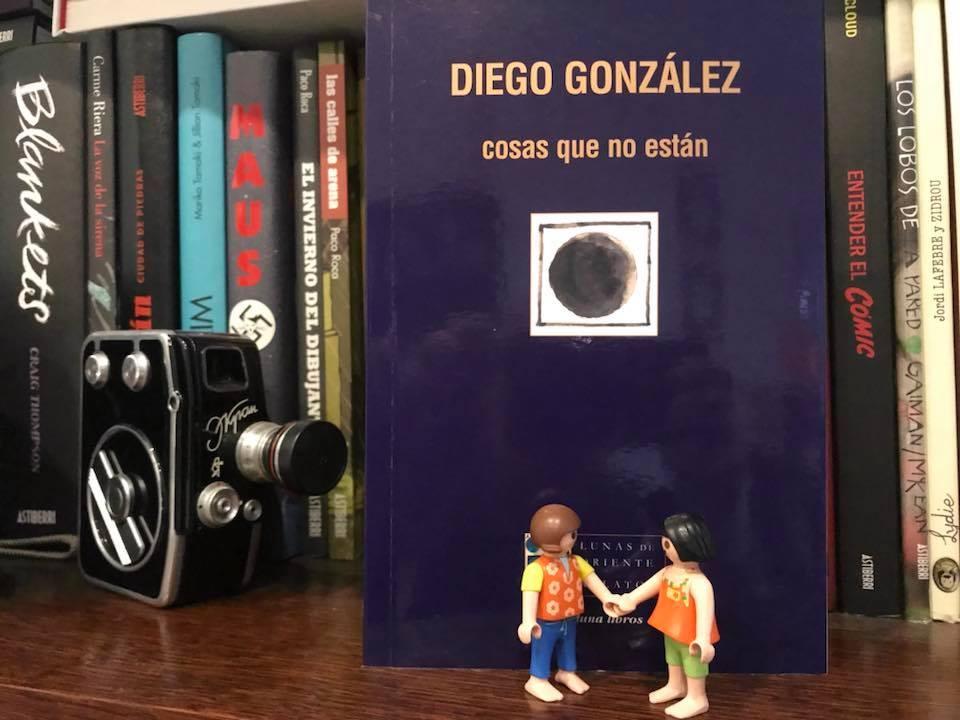 Presentación del libro «Cosas que no están» // Diego González
