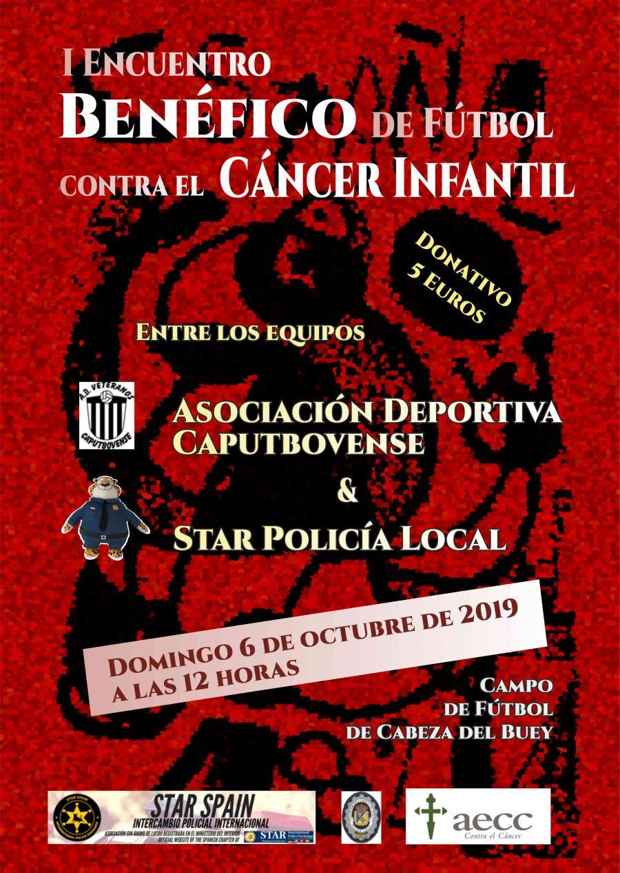 Encuentro Benéfico Fútbol para la Asociación Española contra el cáncer infantil