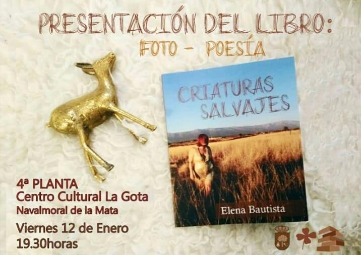 Elena Bautista presenta su nuevo libro 'Criaturas salvajes'