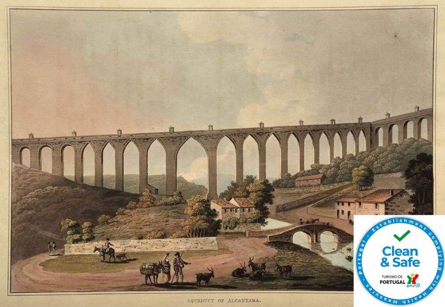 Roteiro Aqueduto Águas Livres: Arcos Vale Alcântara e Amoreiras