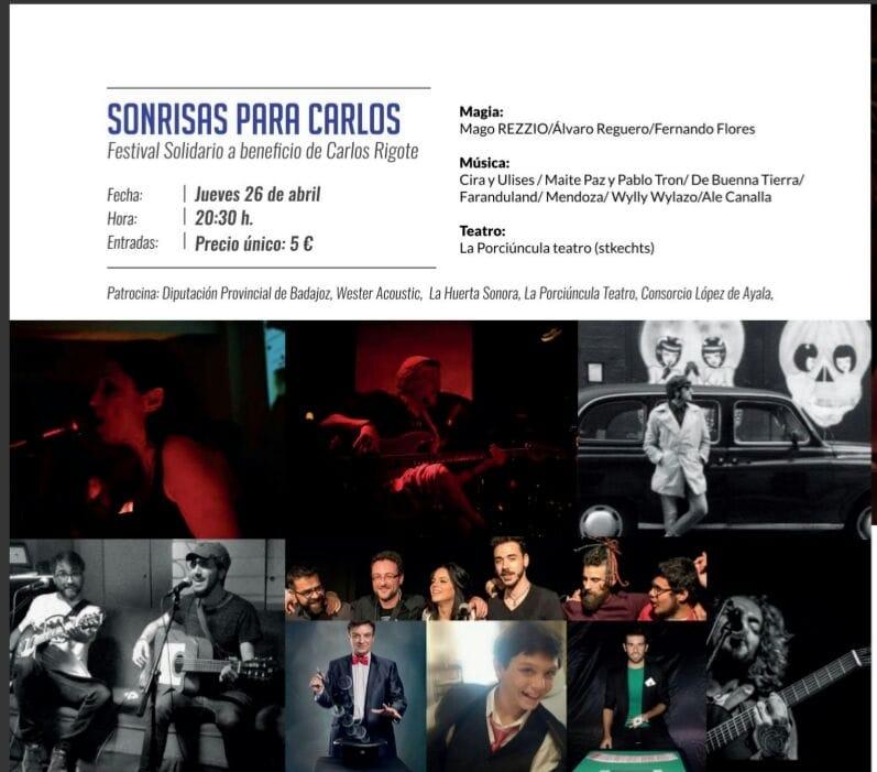 Sonrisas para Carlos Rigote Vera  //  EVENTO SOLIDARIO