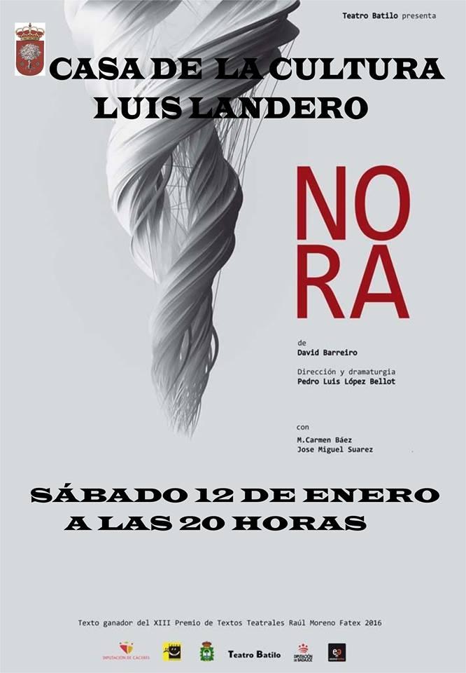 Teatro NORA | Casa de la Cultura Luis Landero | Alburquerque