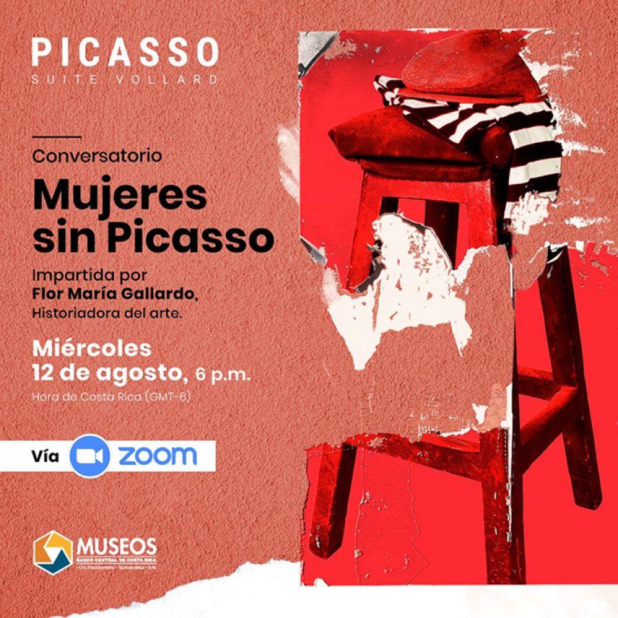 Mujeres sin Picasso. Conversatorio