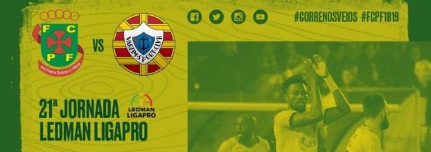 FC Paços de Ferreira x Varzim Sport Club
