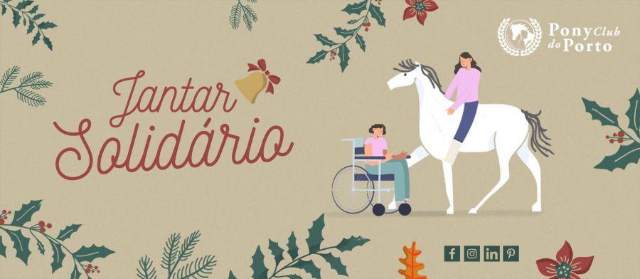 6º Jantar Solidário de Natal do Pony Club do Porto - Associação Solidária Friends Forever