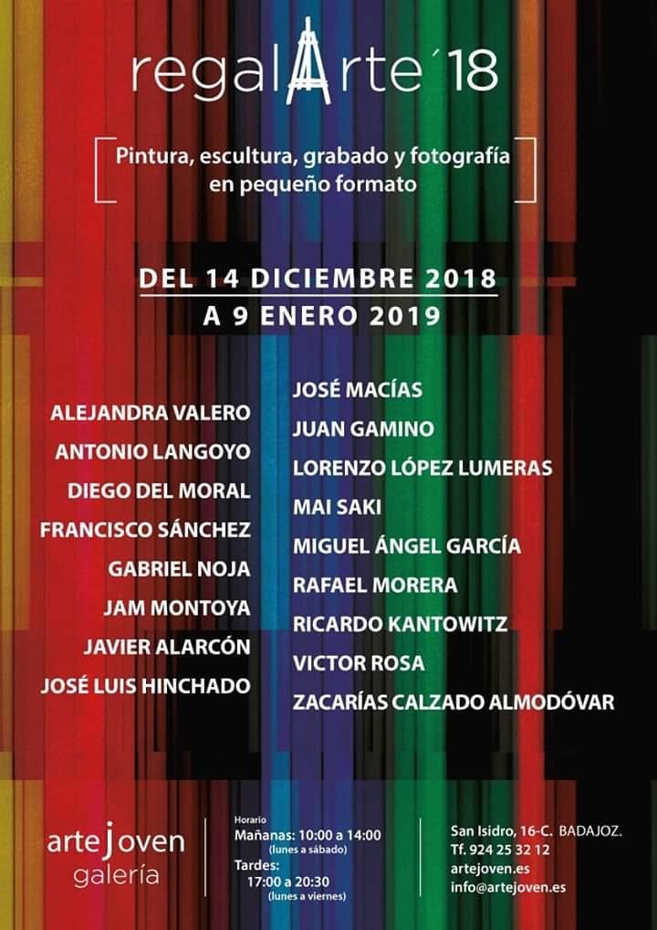 Regalarte '18 || Exposición colectiva