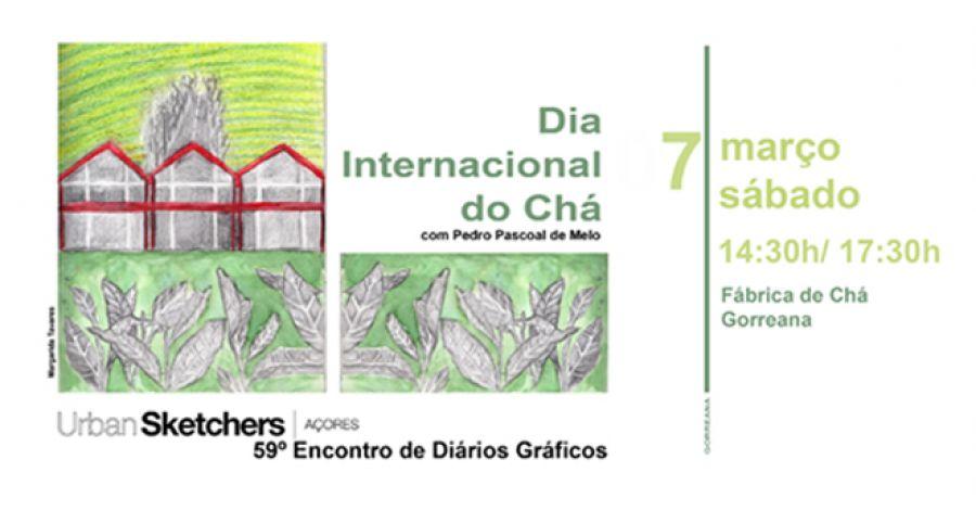 59º Encontro de Diários Gráficos | Fábrica de Chá da Gorreana