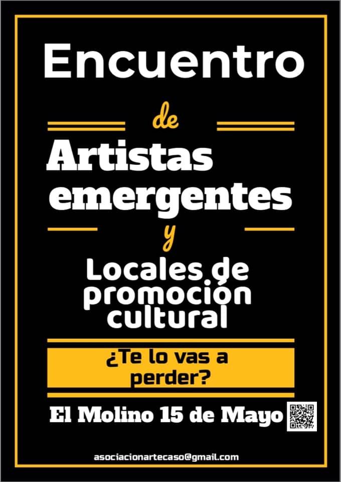 Encuentro de artistas emergentes y locales de promoción cultural