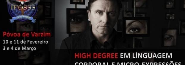 High Degree em Línguagem Corporal e Micro-Expressões Faciais