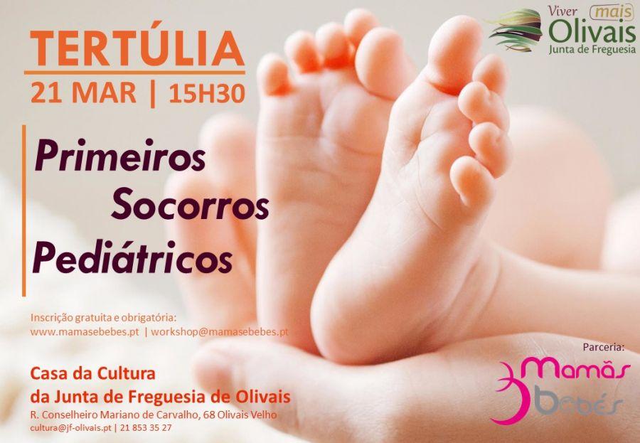 TERTÚLIA Parentalidade - os primeiros socorros pediátricos