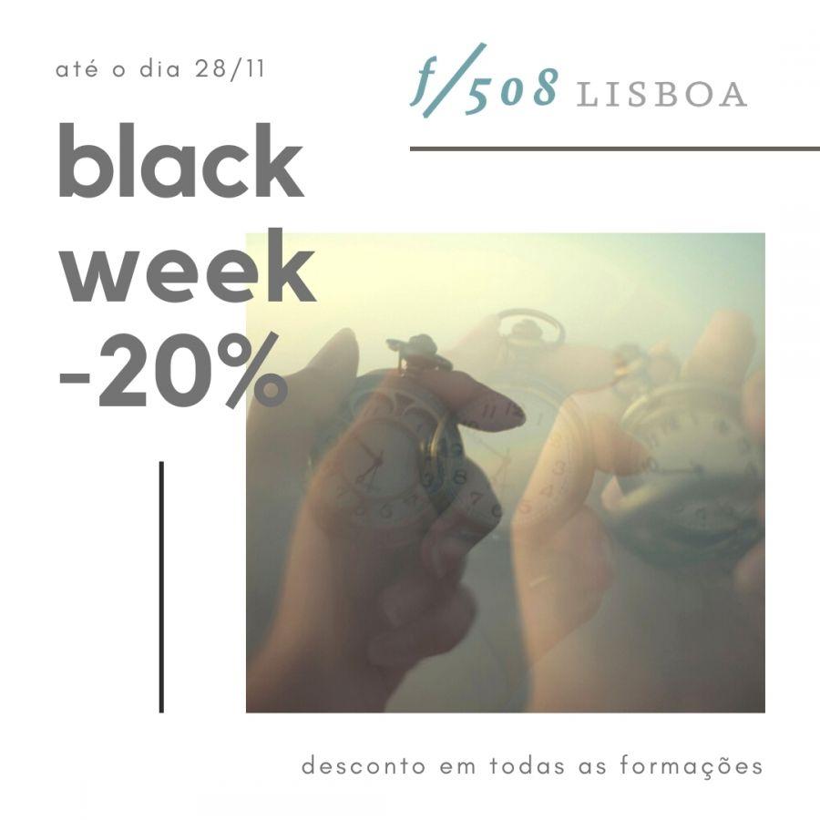 Blackweek f508 -20% em todas as formações