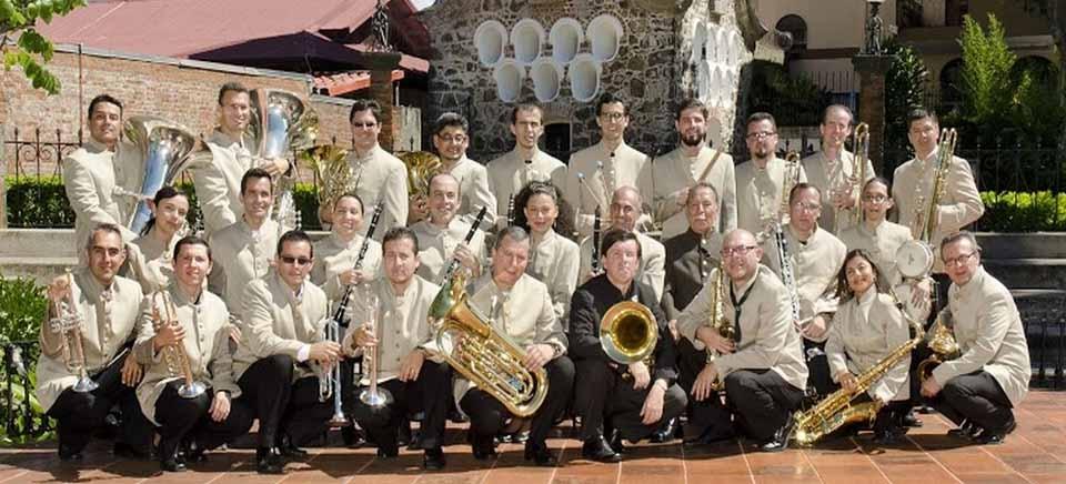 Retreta navideña. Banda de conciertos de Heredia