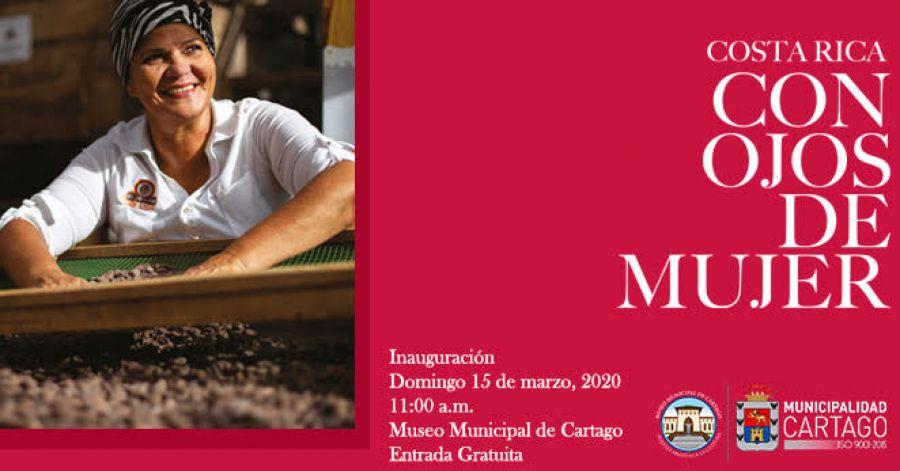 Inauguración. Costa Rica con ojos de mujer. Fotografía
