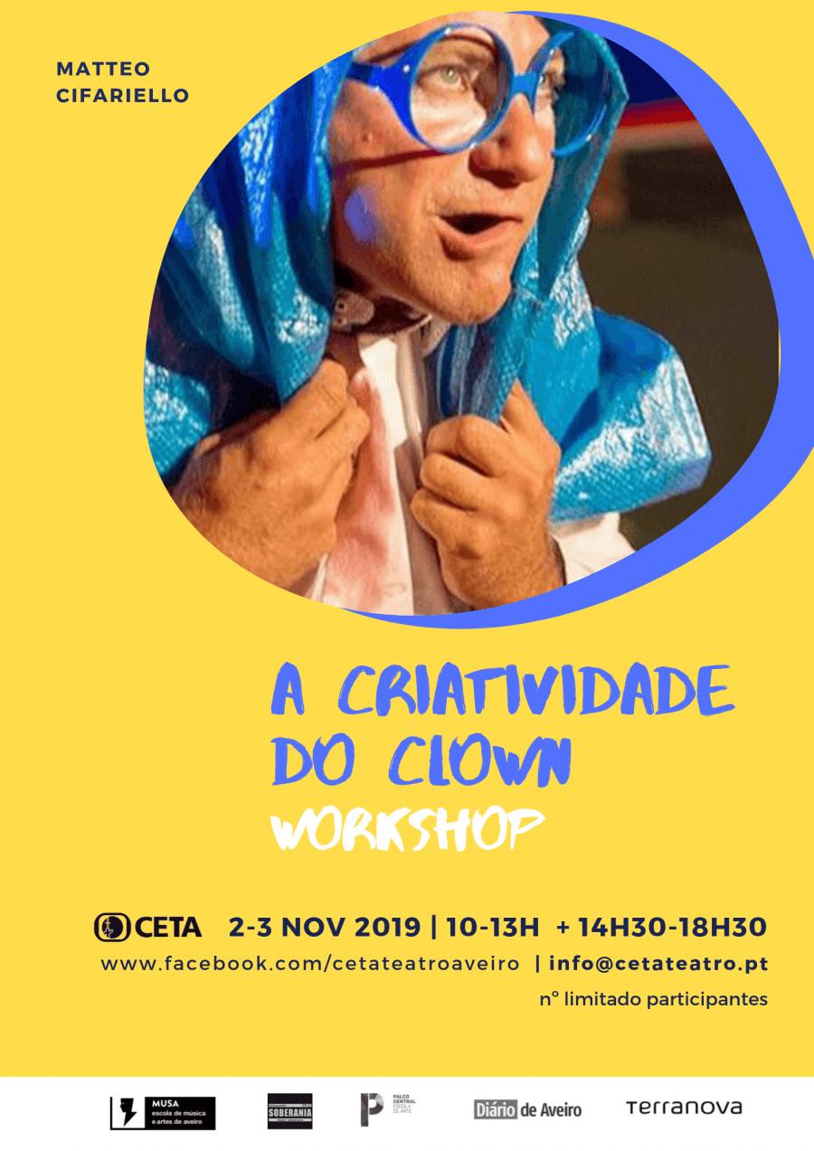 A criatividade do clown