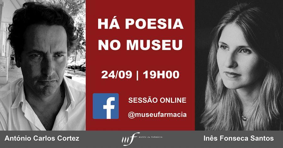 Tertúlia 'Há Poesia no Museu' (Online)