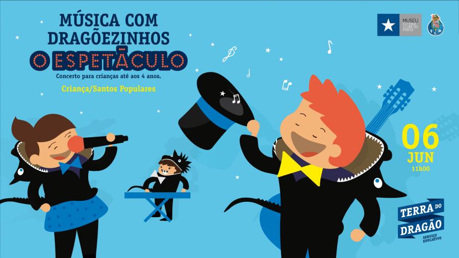 MÚSICA COM DRAGÕEZINHOS, O ESPETÁCULO