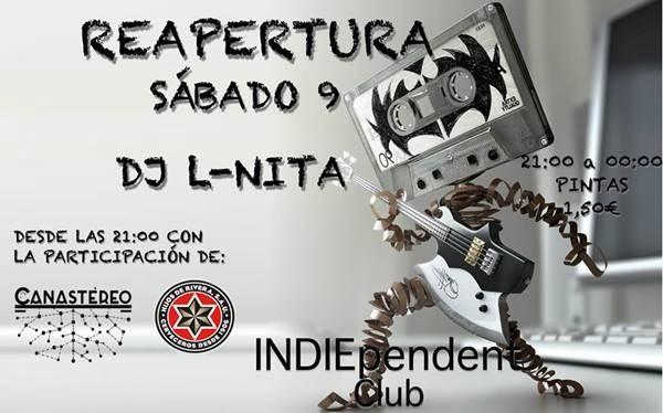 DJ L-NITA en Indiependent Club