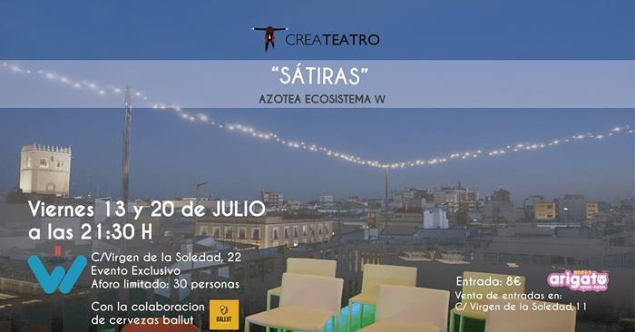 Especáculo 'sátiras' de la compañia Createatro