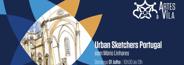 Workshop . Desenho em Diários Gráficos @ Festival Artes à Vila