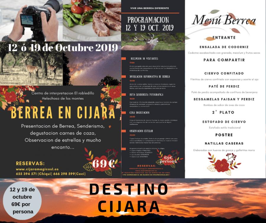 Jornada Berrea en Cijara