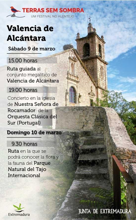 TERRA SEM SOMBRA | Valencia de Alcántara (Sábado 9 de Marzo)