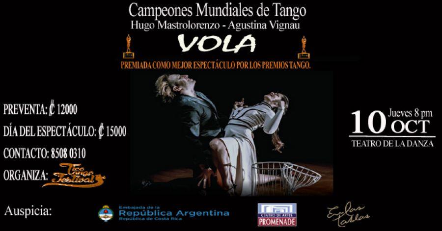 Volá. Agustina Vignau & Hugo Mastrolorenzo. Tango