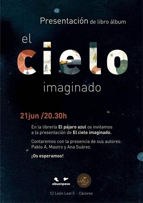 Presentación de «El cielo imaginado» || Librería El Pájaro Azul
