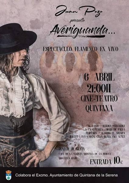 Espectáculo Flamenco ''Averiguanda''